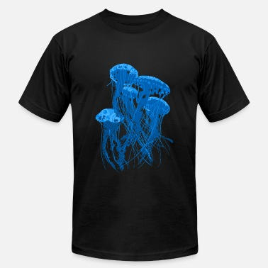 Sea Jellyfish - Men's Jersey T-Shirt