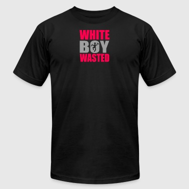 Wasted White Boy Wasted - Men's Fine Jersey T-Shirt
