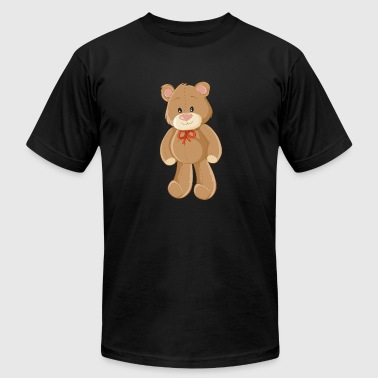 bear-children-animal-drawing-cool - Men's Fine Jersey T-Shirt