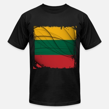 Lithuania Flag Lithuania Flag - Men's Jersey T-Shirt