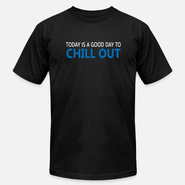 A Time Out Today Chill out time - Men's Fine Jersey T-Shirt