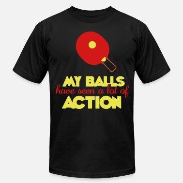 Ping my balls have seen a lot of action - Men's  Jersey T-Shirt
