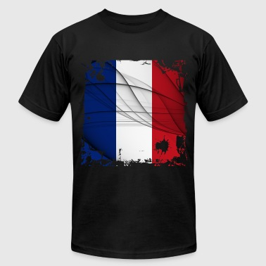 France Flag - Men's Fine Jersey T-Shirt