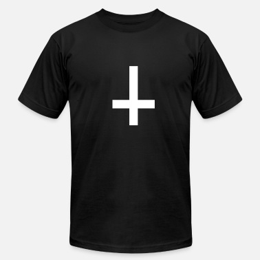 Antichrist Cross antichrist - Men's  Jersey T-Shirt