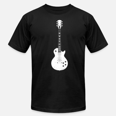 Six-string lespaul - Men's Jersey T-Shirt