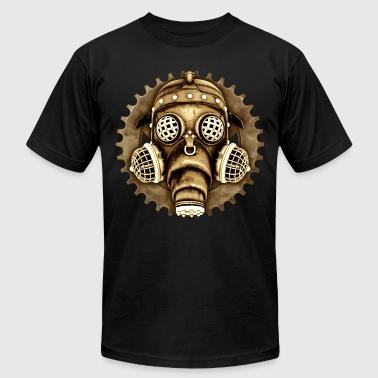 Steampunk-Cyberpunk Gas Mask #1D - Men's Fine Jersey T-Shirt