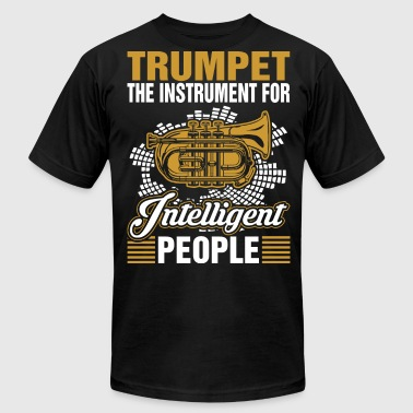 Trumpet The Instrument For Intelligent People - Men's Fine Jersey T-Shirt