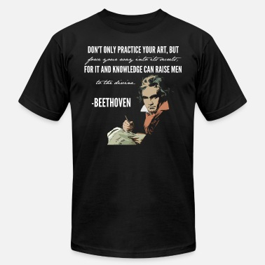 Beethoven Classical Knowledge - Men's Fine Jersey T-Shirt