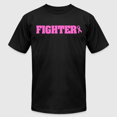 Breast Cancer Fighter Fighter Breast Cancer - Men's Fine Jersey T-Shirt