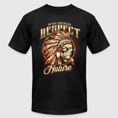 Respect nature - Men's Fine Jersey T-Shirt