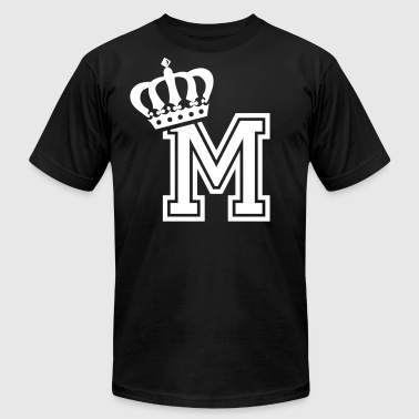 Name: Letter M Character M Case M Alphabetical M - Men's Fine Jersey T-Shirt
