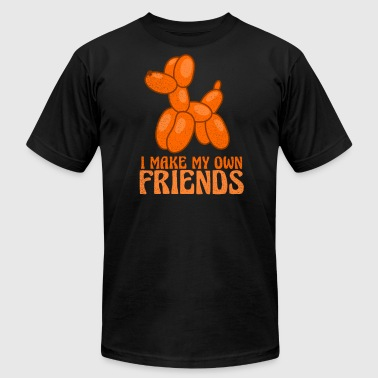 Balloon Twisting Balloon Twisting I Make My Own Friends Gift - Men's Fine Jersey T-Shirt