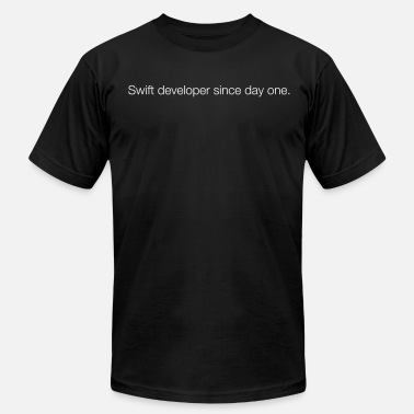 Ios Swift since day one - Men's  Jersey T-Shirt