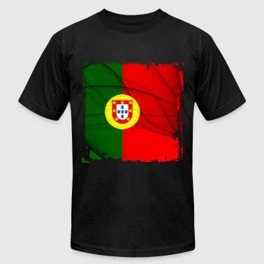Portugal Flag - Men's Fine Jersey T-Shirt