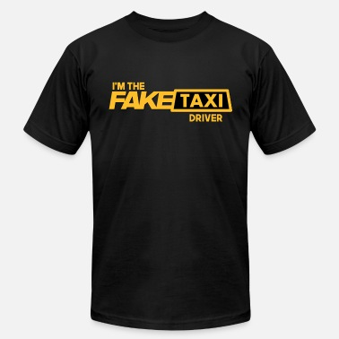 Fake Fake Taxi - Men's Jersey T-Shirt