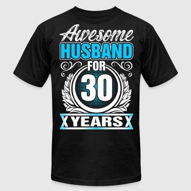 Awesome Husband for 30 Years - Men's Fine Jersey T-Shirt