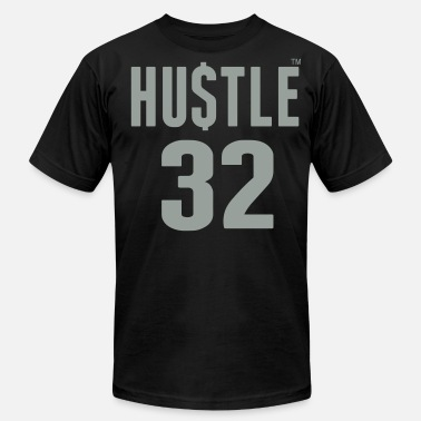 32 Birthday HUSTLE 32 - Men's  Jersey T-Shirt