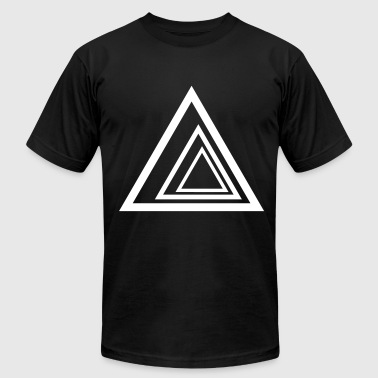 Triangles - Men's Fine Jersey T-Shirt