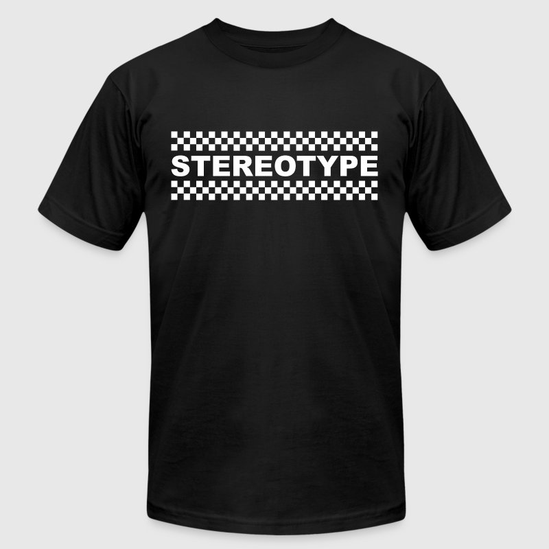 Stereotype White - Men's Fine Jersey T-Shirt