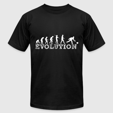 Bowling Insults evolution bowling - Men's Fine Jersey T-Shirt