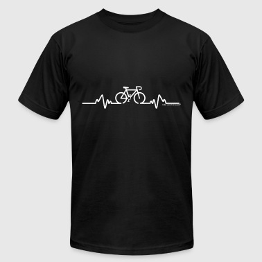 Cycling Biking Bike Riding Bike Pulse Cycling Bicycle Riding - Men's Fine Jersey T-Shirt