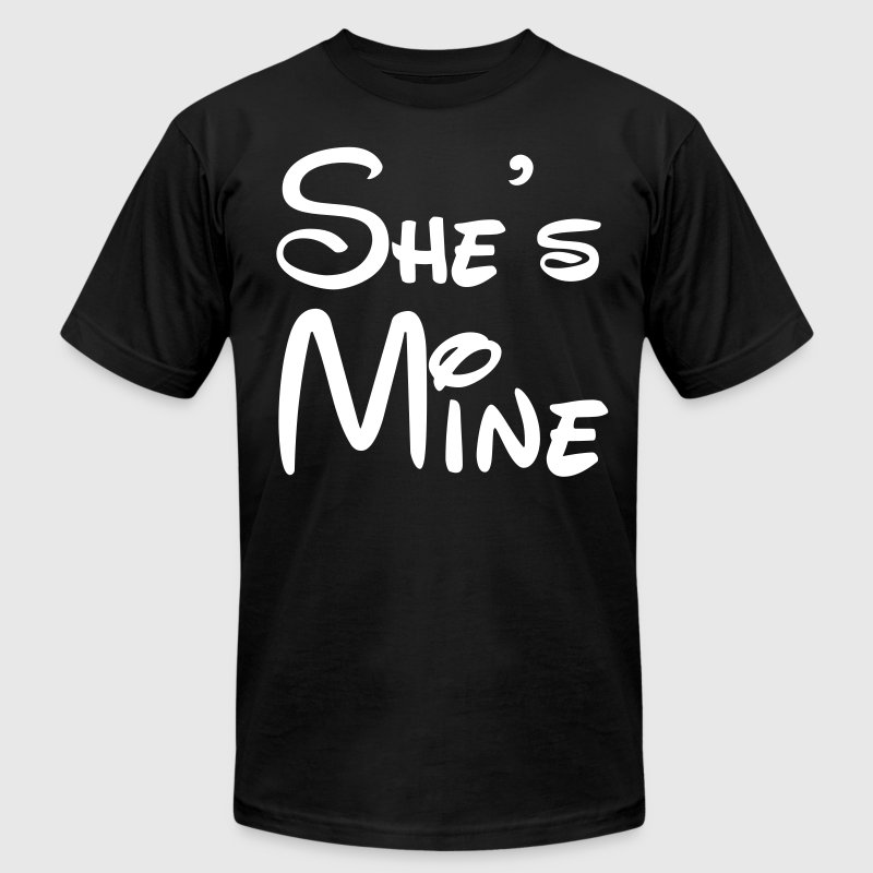 She's Mine - Men's Fine Jersey T-Shirt