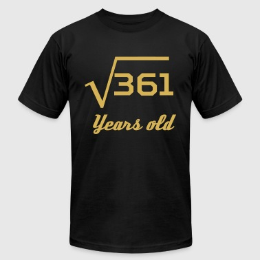 Square Root Of 361 19 Years Old - Men's Fine Jersey T-Shirt