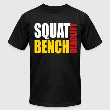 Squat Bench Deadlift - Men's Fine Jersey T-Shirt