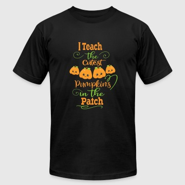 I Love Pumpkin Pie I The Teachers Cutest Pumpkins In The Patch - Men's Fine Jersey T-Shirt
