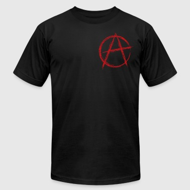Anarchy Sign anarchy symbol - Men's Fine Jersey T-Shirt