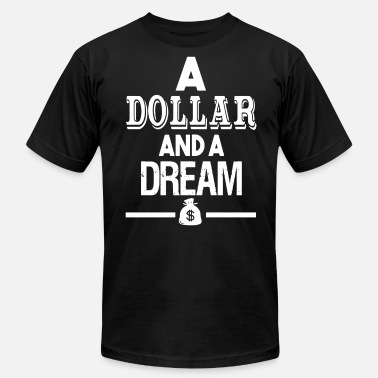 Dr Dream DOLLAR AND A DREAM THE GAME DR DRE COMPTON - Men's Fine Jersey T-Shirt