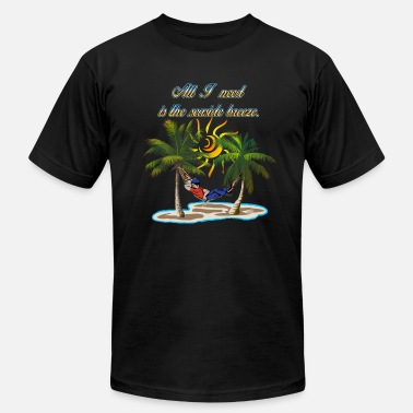 Seaside Seaside Breeze #1 - Men's Fine Jersey T-Shirt