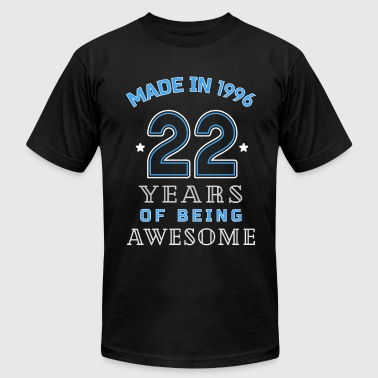 1996 Years of Awesome 22nd Birthday Gift - Men's Fine Jersey T-Shirt