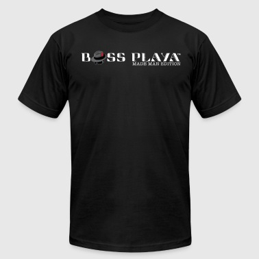 Boss Playa Made Man Edition (Transparent) - Men's Fine Jersey T-Shirt