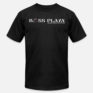 The Boss Man Boss Playa Made Man Edition (Transparent) - Men's Jersey T-Shirt