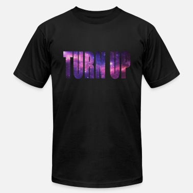 Turn Turn Up Galaxy Tee - Men's Jersey T-Shirt