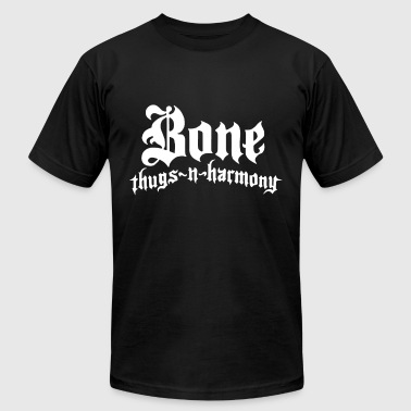 Bones Rap Bone Thugs N Harmony Rap Music Hip Hop - Men's Fine Jersey T-Shirt
