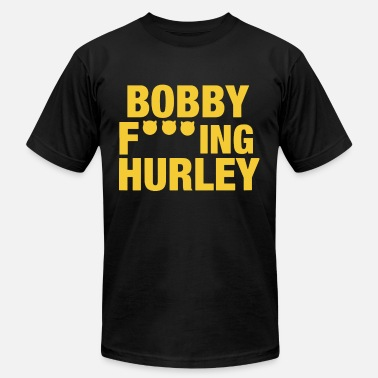 Fuck Basketball BOBBY FUCKING HURLEY basketball - Men's Fine Jersey T-Shirt