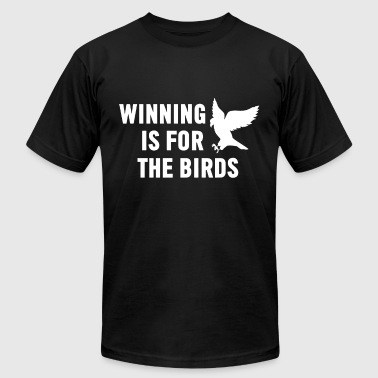 Winning Is For The Birds Eagle Mascot - Men's Fine Jersey T-Shirt