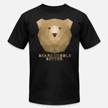 Cuddle Bears Pride LGBT Bears Cuddle Better - Men's  Jersey T-Shirt