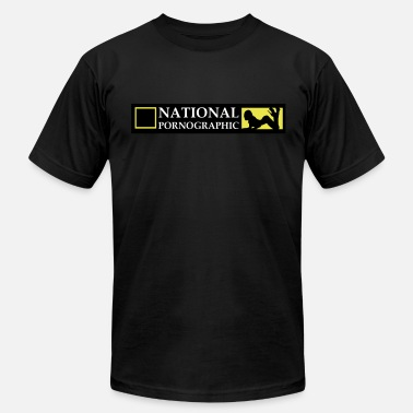 National National Pornographic - Men's Fine Jersey T-Shirt