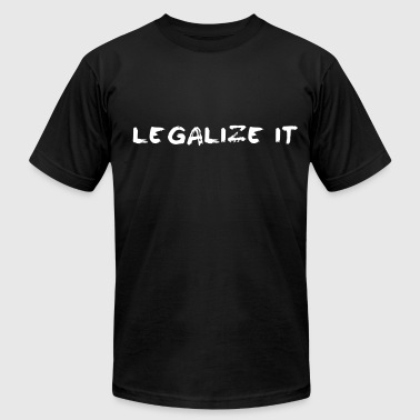 Legalize it - Men's Fine Jersey T-Shirt