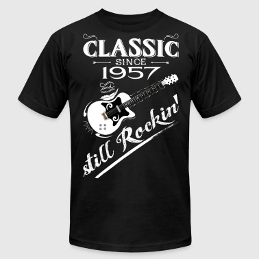 Classic Since 1957-Still Rockin' - Men's Fine Jersey T-Shirt