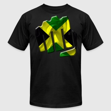 Jamaica Football Jamaica - Men's Fine Jersey T-Shirt