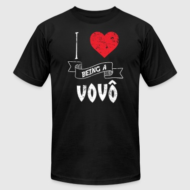 I Love Being A Vovo Portugese - Men's Fine Jersey T-Shirt
