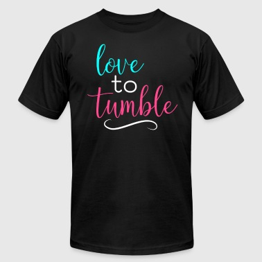 Gymnastics Love To Tumble Gymnast Light - Men's Fine Jersey T-Shirt