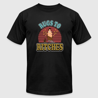 Rugged rugs to ritches - Men's Fine Jersey T-Shirt