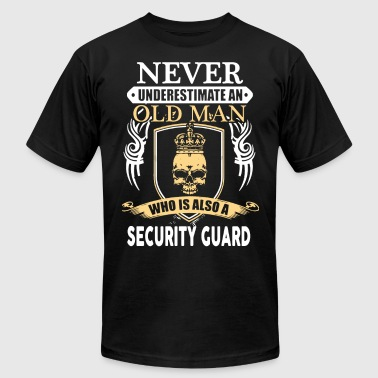 Secure Old Man Security Guard Shirt - Men's Fine Jersey T-Shirt