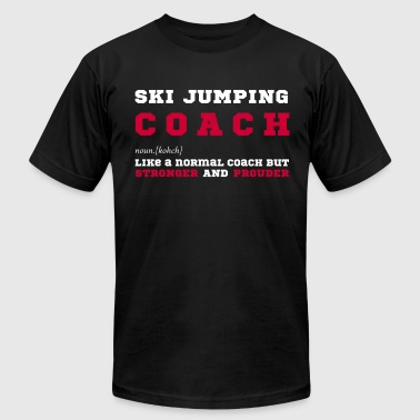 Ski Jumping Ski Jumping Coach - Gift for Ski Jumping Coaches - Men's Fine Jersey T-Shirt
