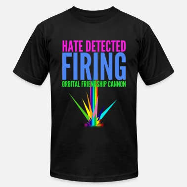 Sublimation Hate Detected, Firing Orbital Friendship Cannon - Men's  Jersey T-Shirt